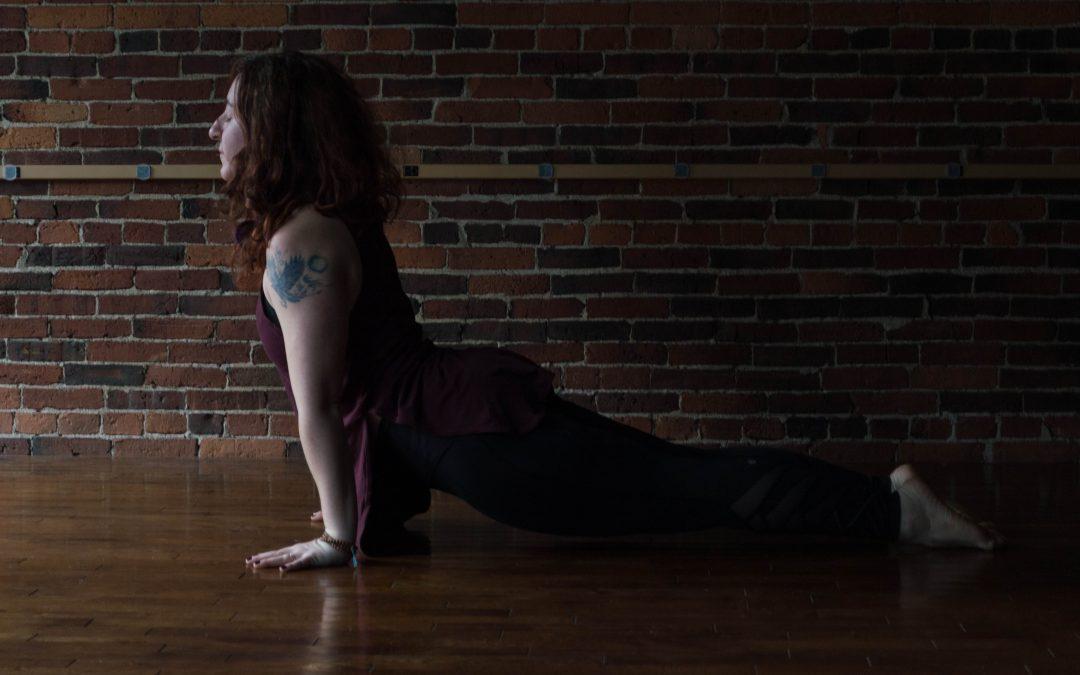 Pose Break Down: Transitioning from Updog to Downdog